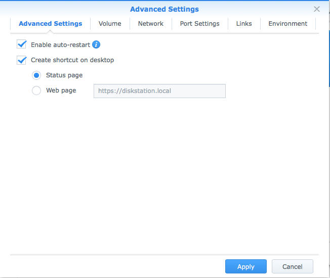 Pi-Hole on Synology in Docker - ServiceMax
